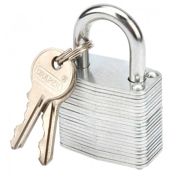 30mm Laminated Steel Padlock