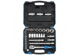 "1/2"" Sq. Dr. Combined MM/AF Socket Set (33 Piece)"