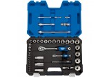 "1/4"" and 1/2"" Sq. Dr. Metric Socket Set (42 piece)"