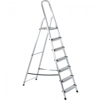 7 Step Aluminium Ladder to EN131