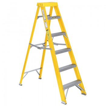 Expert Fibreglass 5 Step Ladder