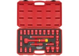 "1/2"" Square. Drive. VDE Socket Set (24 Piece)"