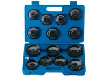 "3/8"" Sq. Dr. Oil Filter Cup Socket Set (15 piece)"