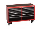 Expert Tool Cabinet with 14 Drawers and Castors (64 inches long)