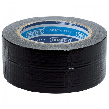 33M x 50mm Black Duct Tape Roll