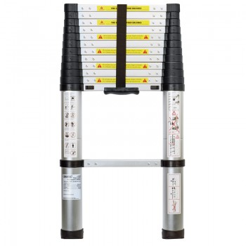 13 Rung Aluminium Telescopic Ladder to EN131