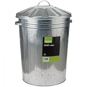 Galvanised Dust Bin (85L)