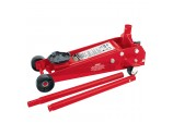 3 tonne Red Heavy Duty Garage Trolley Jack