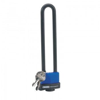 U Bar Extra Long Shackle Lock with 2 Keys