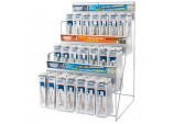 Assorted Metric HSS Cobalt Drill Bit Merchandiser (130 Piece)