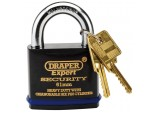 Expert 61mm Heavy Duty Padlock and 2 Keys with Super Tough Molybdenum Steel Shackle