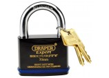 Expert 70mm Heavy Duty Padlock and 2 Keys with Super Tough Molybdenum Steel Shackle