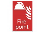 'Fire Point' Fire Equipment Sign