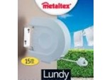 Lundy Wall Mountable Retractable Line Airer 15 Metre