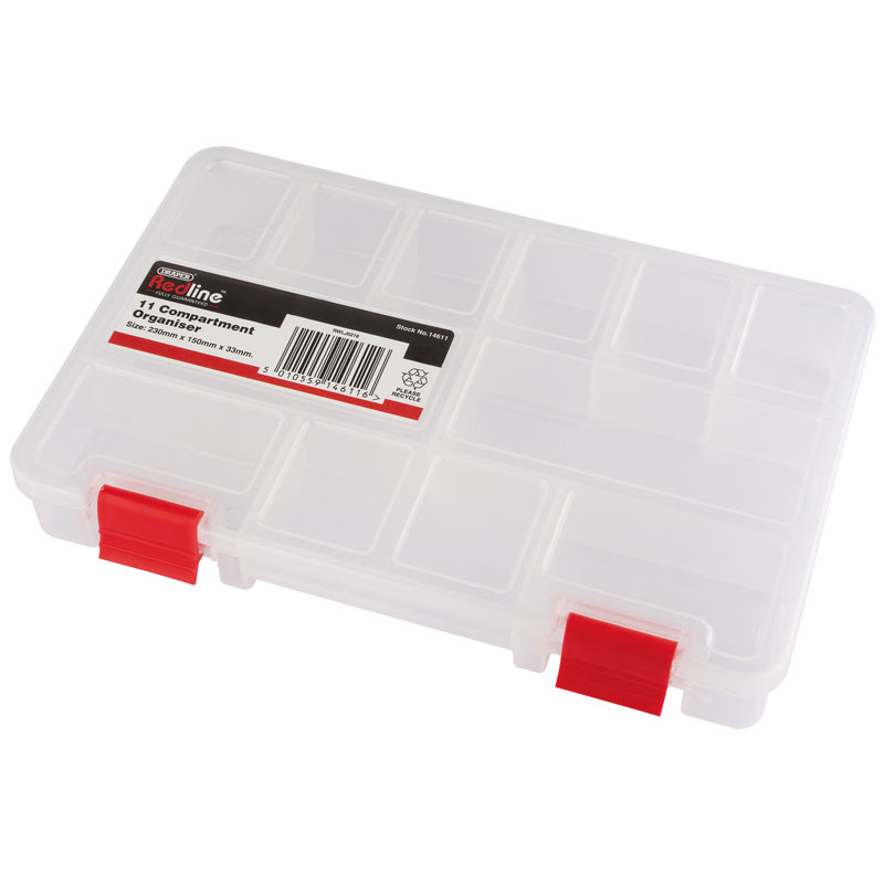 Plastic Storage Organiser 230 x 150 x 33mm – Now Only £2.40