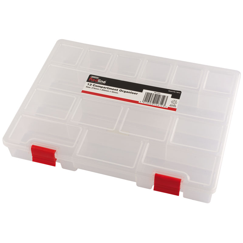 Plastic Storage Organiser 276 x 203 x 42mm – Now Only £3.24