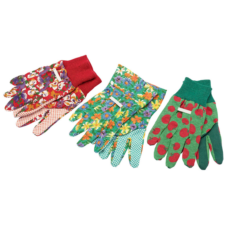 Pack of Three Pairs of Small/Medium Gardening Gloves – Now Only £3.68