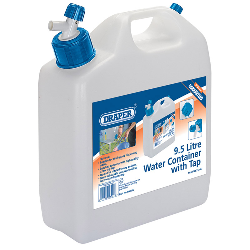 9.5L Water Container with Tap – Now Only £10.74