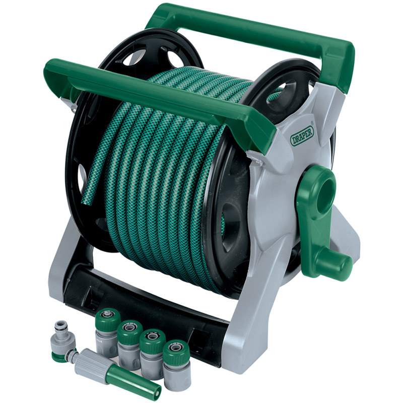 Wind-Up Garden Hose Reel Kit (25M) – Now Only £31.38