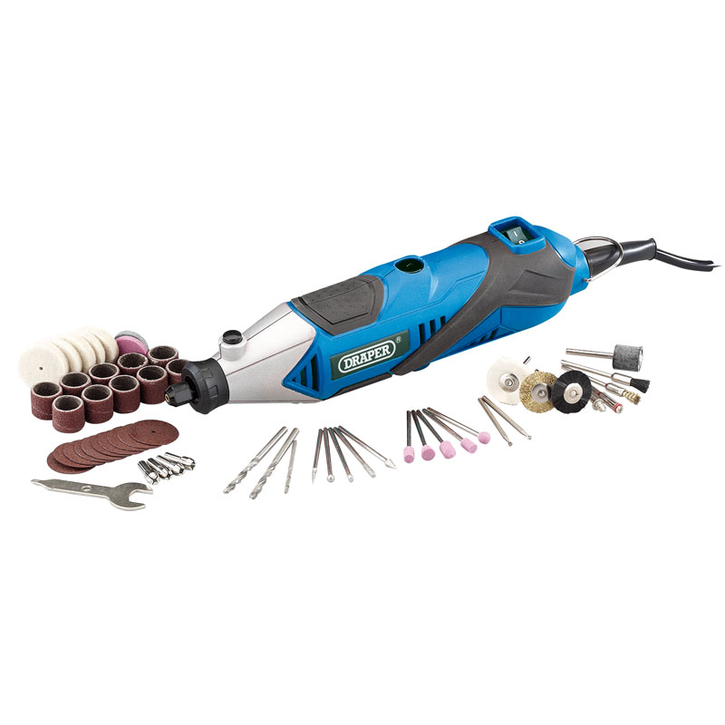 135W 230V Multi Tool with 56 Piece Accessory Kit – Now Only £28.49