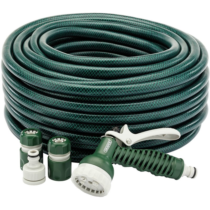 12mm Bore Garden Hose and Spray Gun Kit (30M) – Now Only £17.86