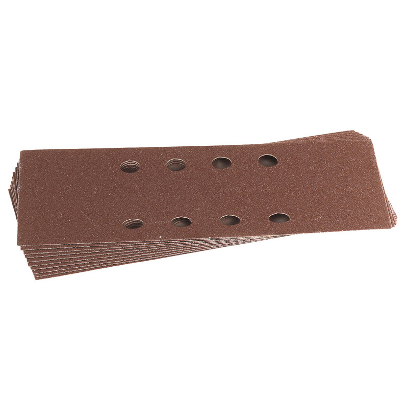 Ten 232 x 92mm Assorted Grit Aluminium Oxide Sanding Sheets – Now Only £1.61