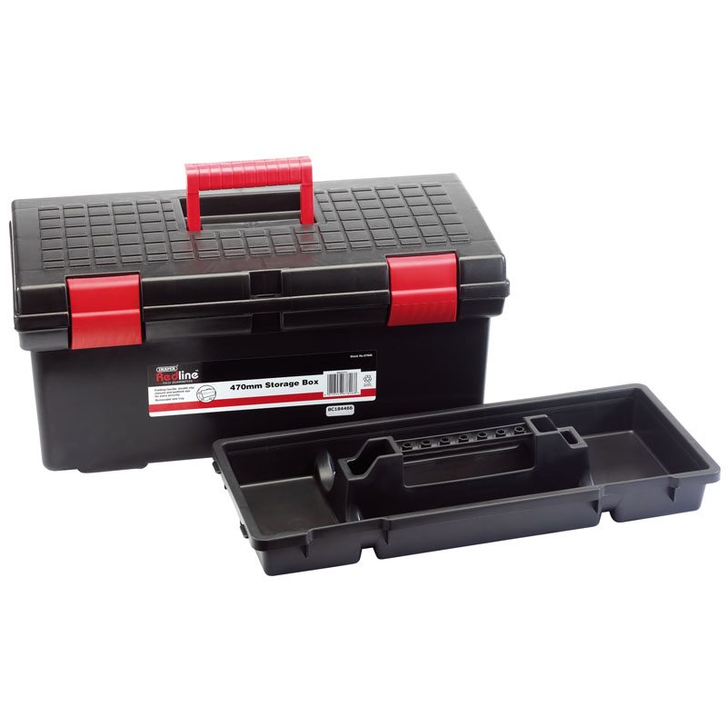 Plastic Storage Box 470 x 200 x 180mm – Now Only £14.78