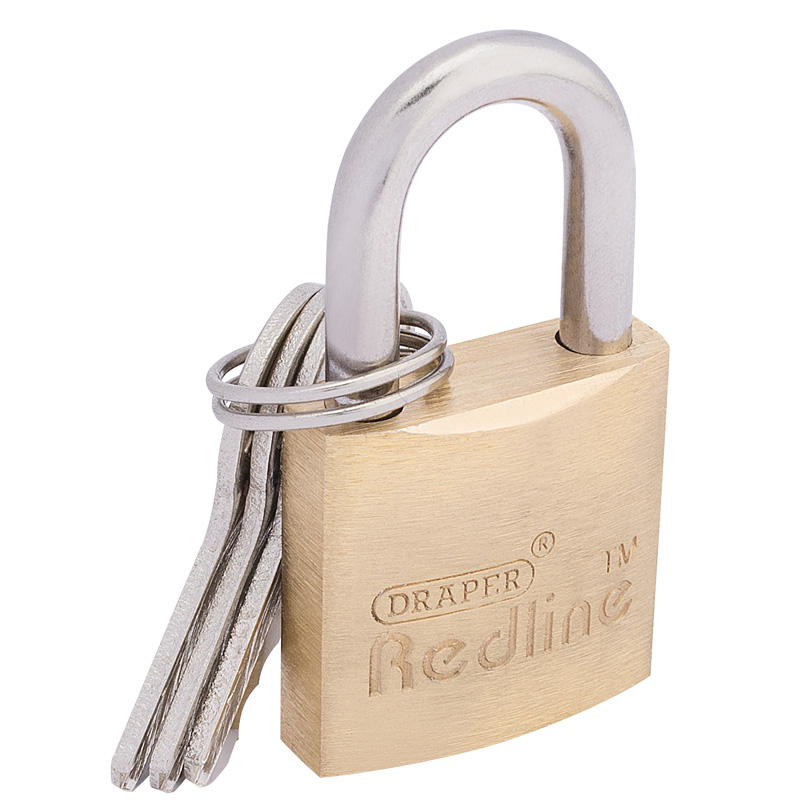 25mm Brass Cylinder Padlock – Now Only £2.92