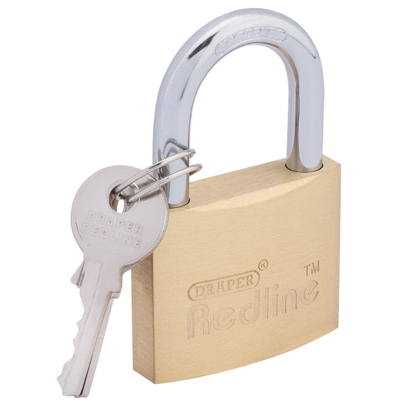 40mm Brass Cylinder Padlock – Now Only £4.96