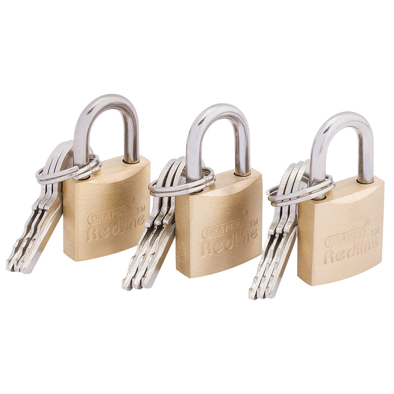 20mm Padlock Set (3 piece) – Now Only £6.65