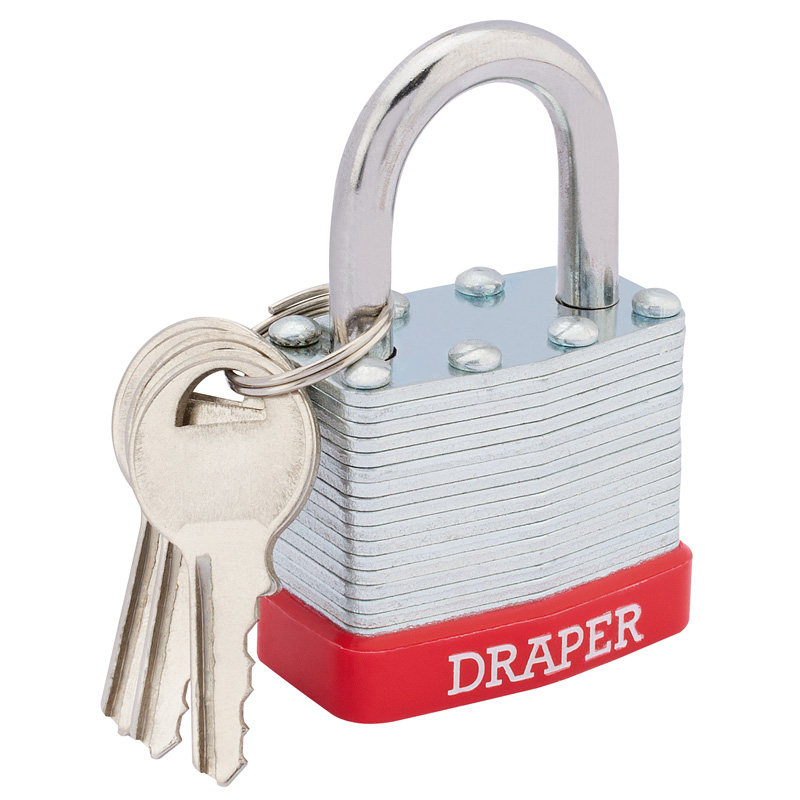 40mm Laminated Steel Padlock – Now Only £3.03