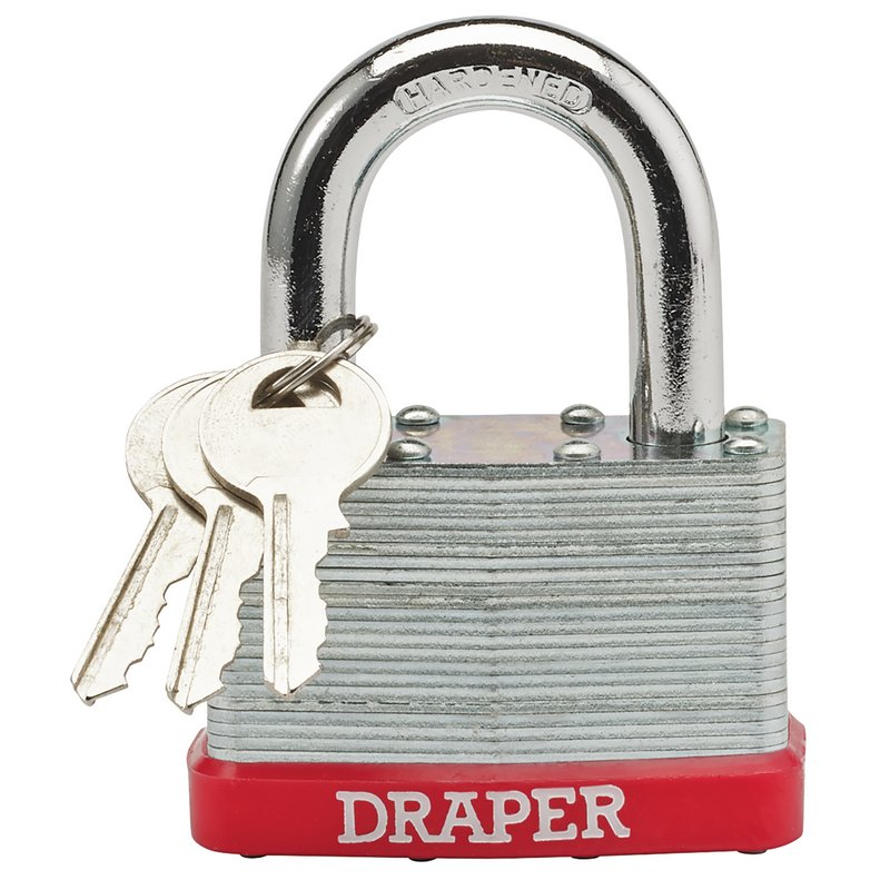 65mm Laminated Steel Padlock – Now Only £6.35