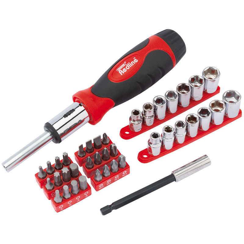 Ratcheting Screwdriver Socket and Bit Set (40 piece) – Now Only £11.30