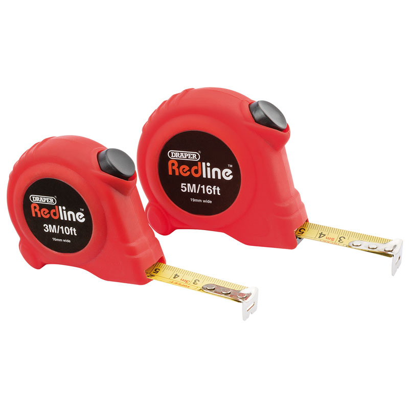 3M and 5M Metric/Imperial Measuring Tape Set – Now Only £3.50