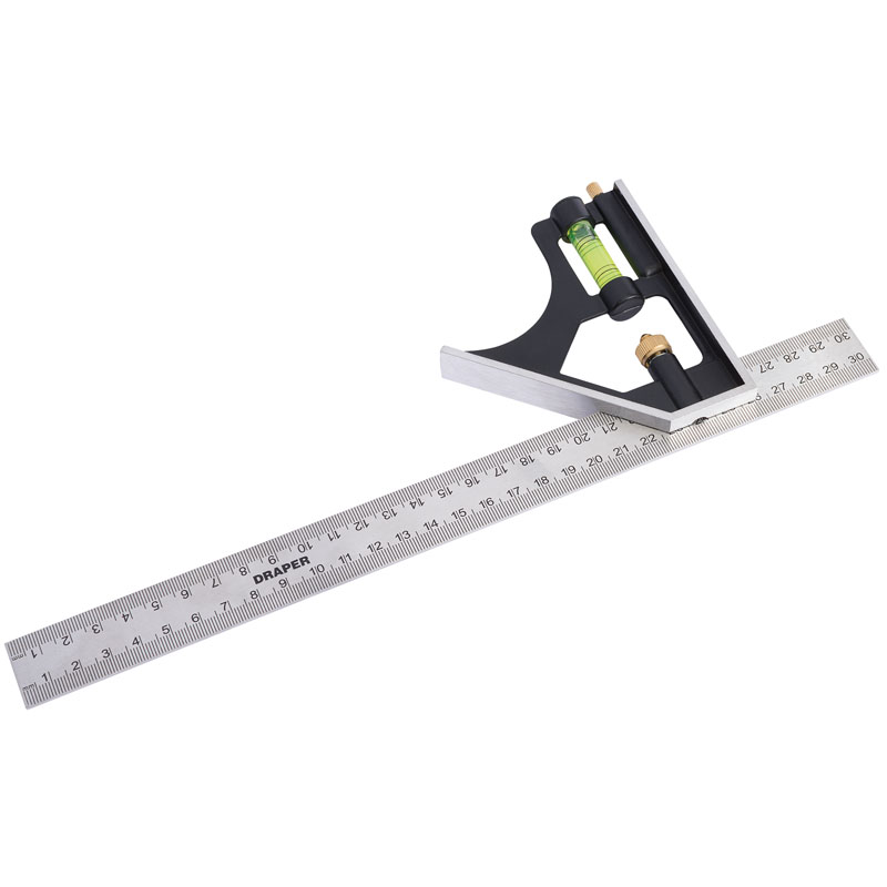 300mm Metric and Imperial Combination Square – Now Only £5.80