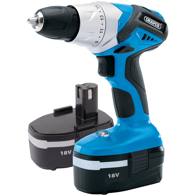 18V Cordless Rotary Drill with Two Batteries – Now Only £68.78