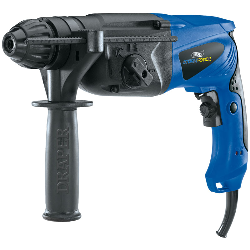Storm Force® SDS+ Rotary Hammer Drill Kit with Rotation Stop (850W) – Now Only £77.21