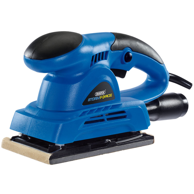 Storm Force® 1/3 Sheet Orbital Sander (135W) – Now Only £22.45