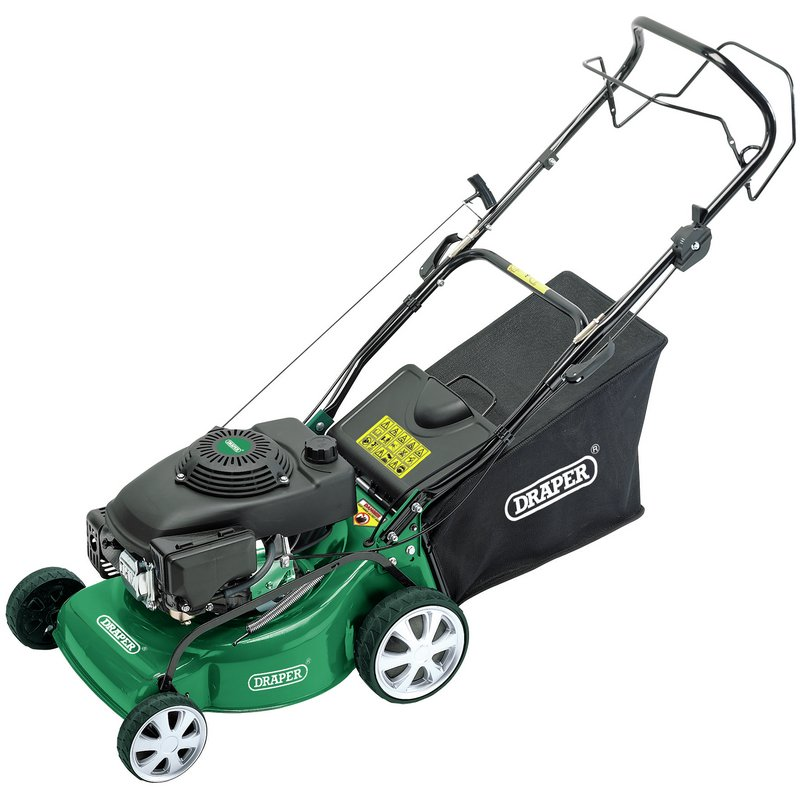 Expert 135cc (4HP) 400mm Self-Propelled Petrol Lawn Mower – Now Only £224.63