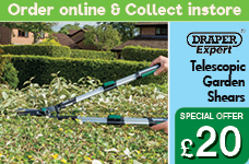 Expert Telescopic Soft Grip Straight Edge Garden Shears  – Now Only £20.00