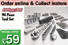 94 Piece Tool Set  – Now Only £59.00