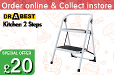 Kitchen Steps - 2 Steps  – Now Only £20.00