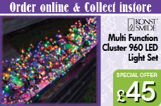 Multifunction Light Set Cluster with 960 LEDs -  – Now Only £45.00