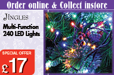 Multi Function 240 LED Lights -  – Now Only £17.00