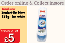 Sealant Re-New 181g - Ice White – Now Only £5.00