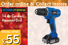 Storm Force Cordless Hammer Drill – Now Only £55.00