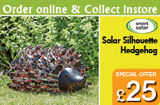 New Solar Silhouette Hedgehog – Now Only £25.00