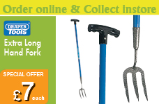 Extra Long Carbon Hand 'T' Fork – Now Only £7.00