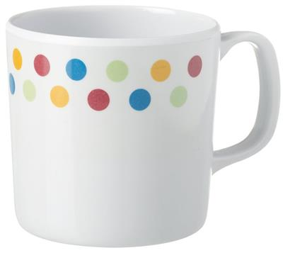 Melamine Mug - Polka – Now Only £1.50