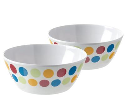 Pack of 2 Melamine Bowls – Now Only £1.50